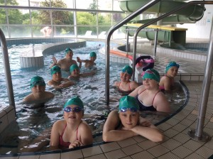 Check out our cool swimming caps!